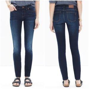 "Madewell skinny skinny jeans 8"" size 25"